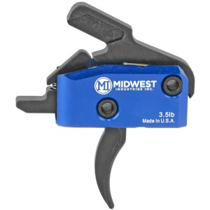 Midwest Industries MITRIGGERC AR-15 AR Platform Drop-In Curved Trigger 3.50 lbs