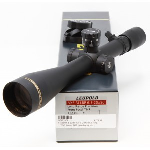 Leupold 6.5-20x50 VX-3i LRP 30mm Rifle Scope DEMO-A