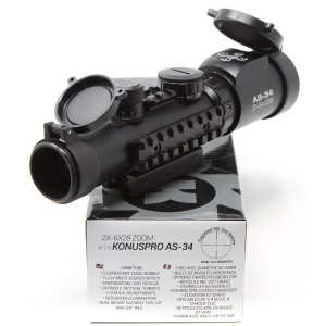Konus 2-6x28 Konuspro AS-34 34mm Rifle Scope DEMO-B