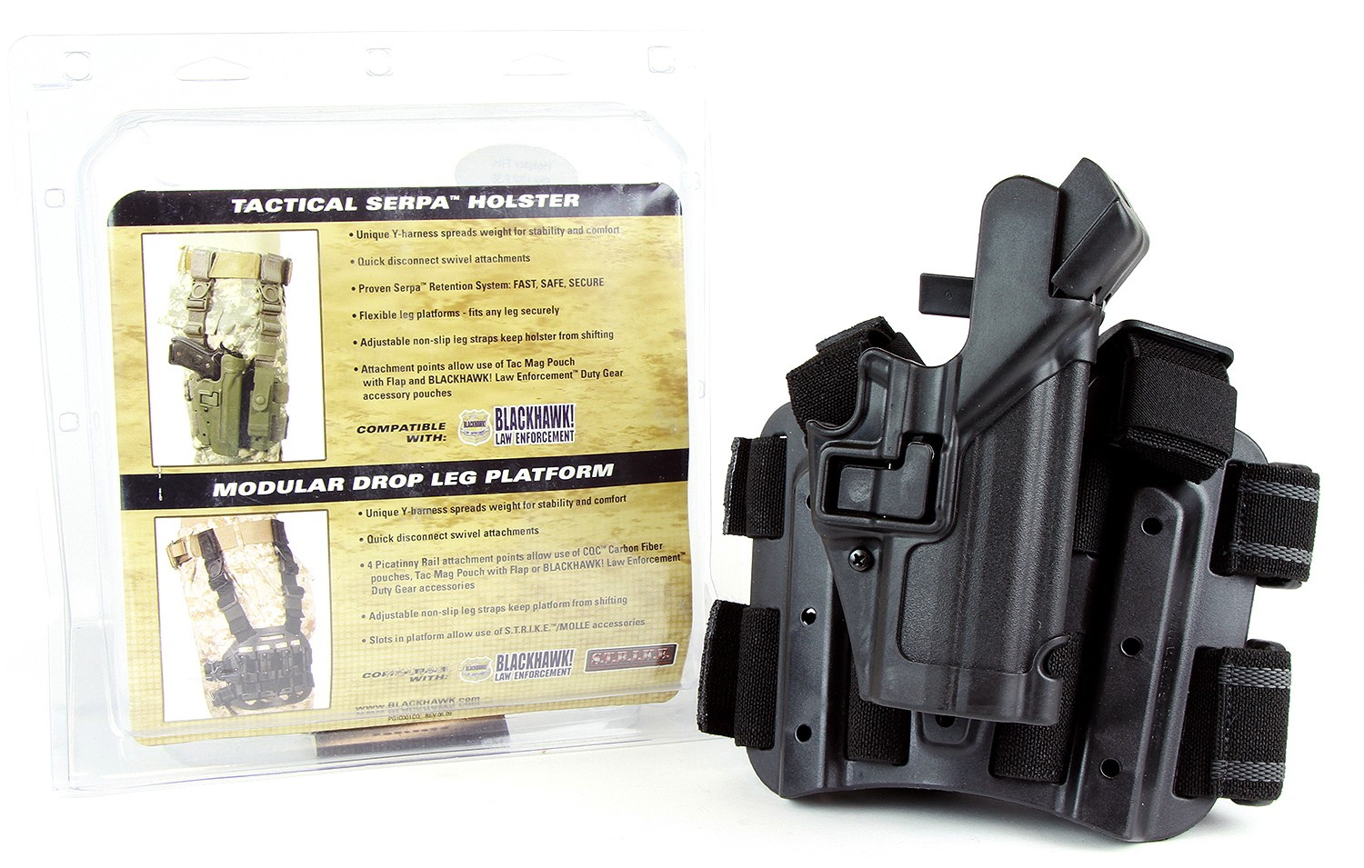 Blackhawk Tactical Serpa Level 3 Holster DEMO-B
