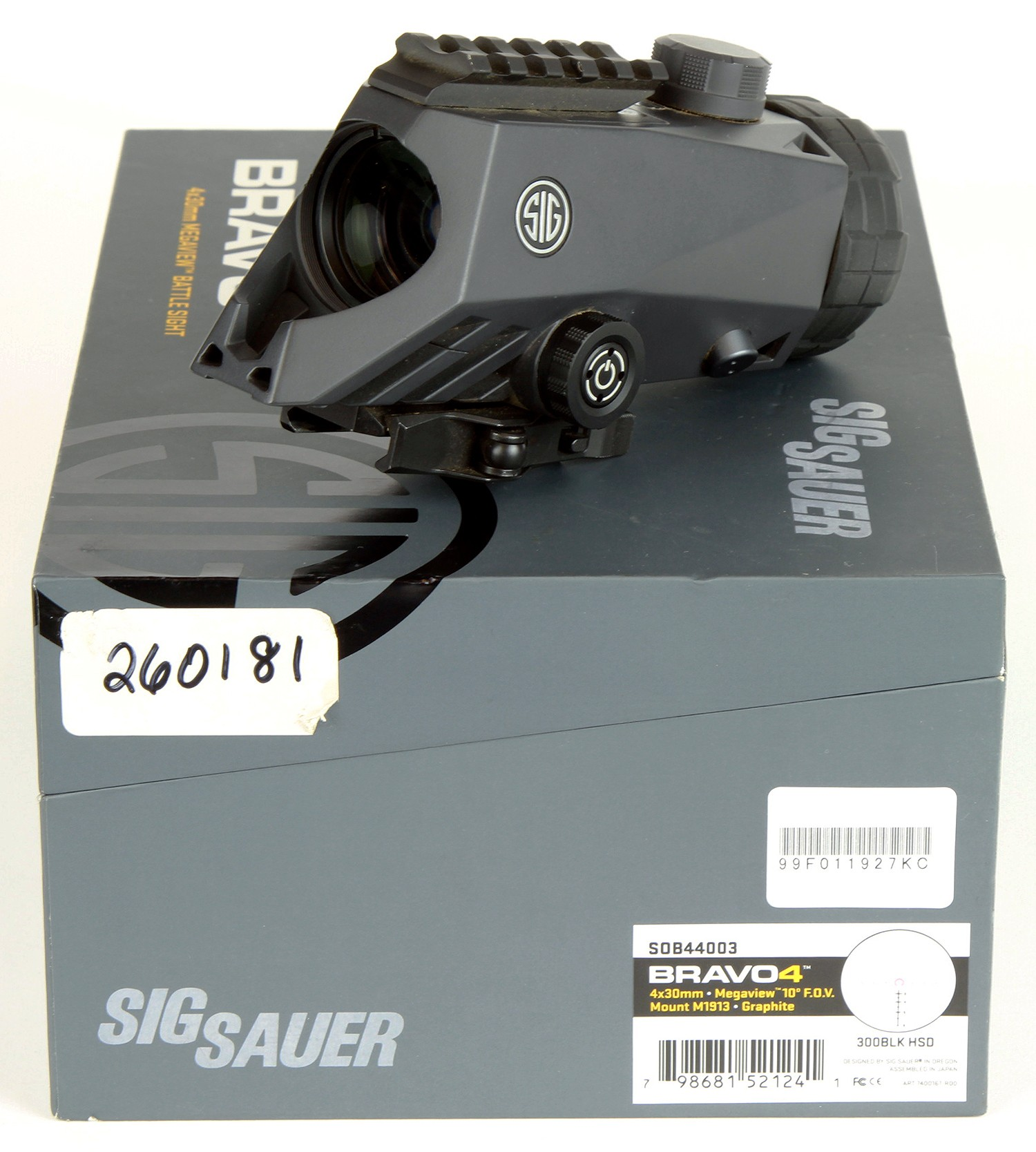 Sig Sauer 4x30 BRAVO4 Battle Sight DEMO-B