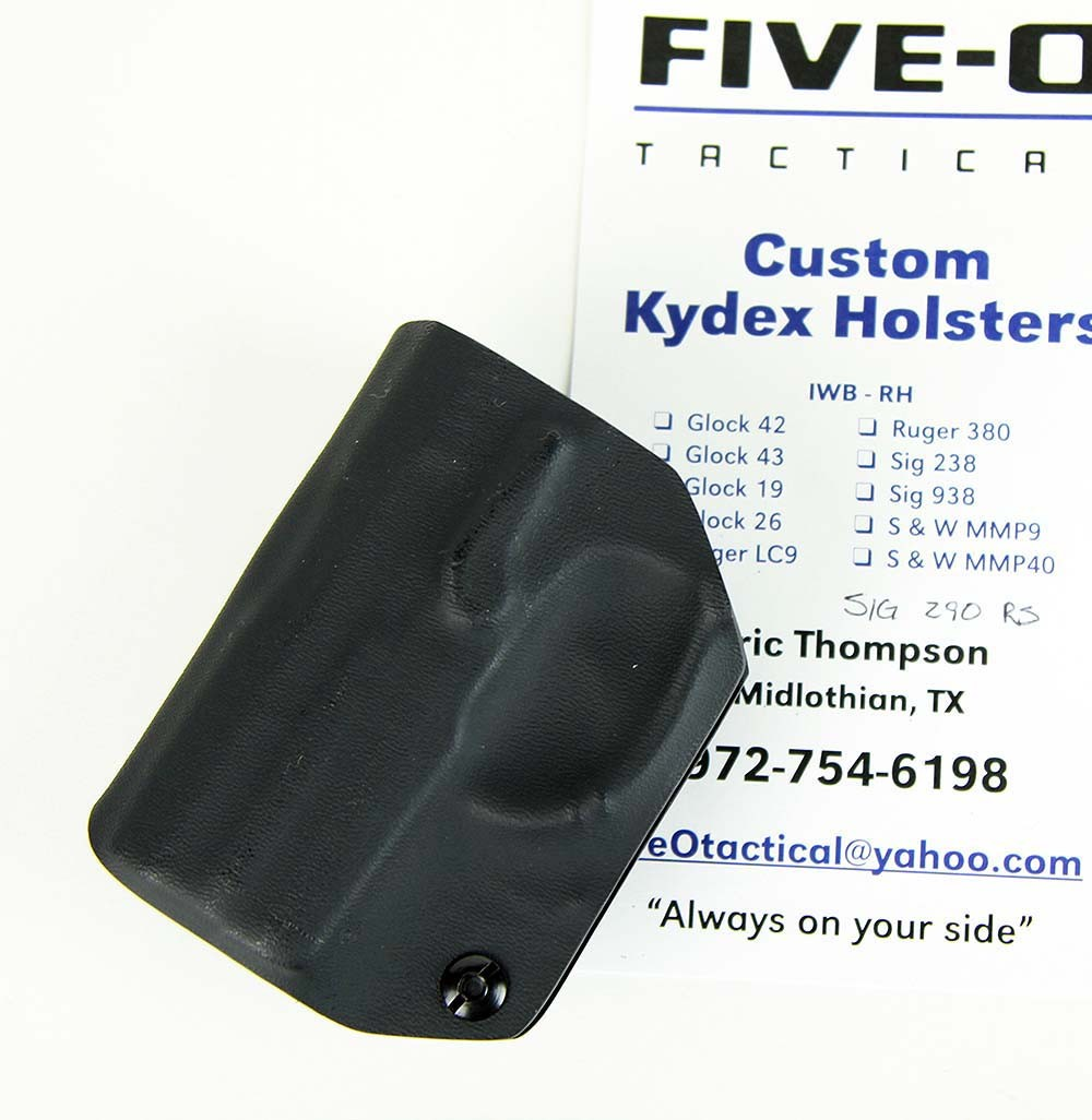 Five-O Tactical Holster Kydex IWB DEMO-B