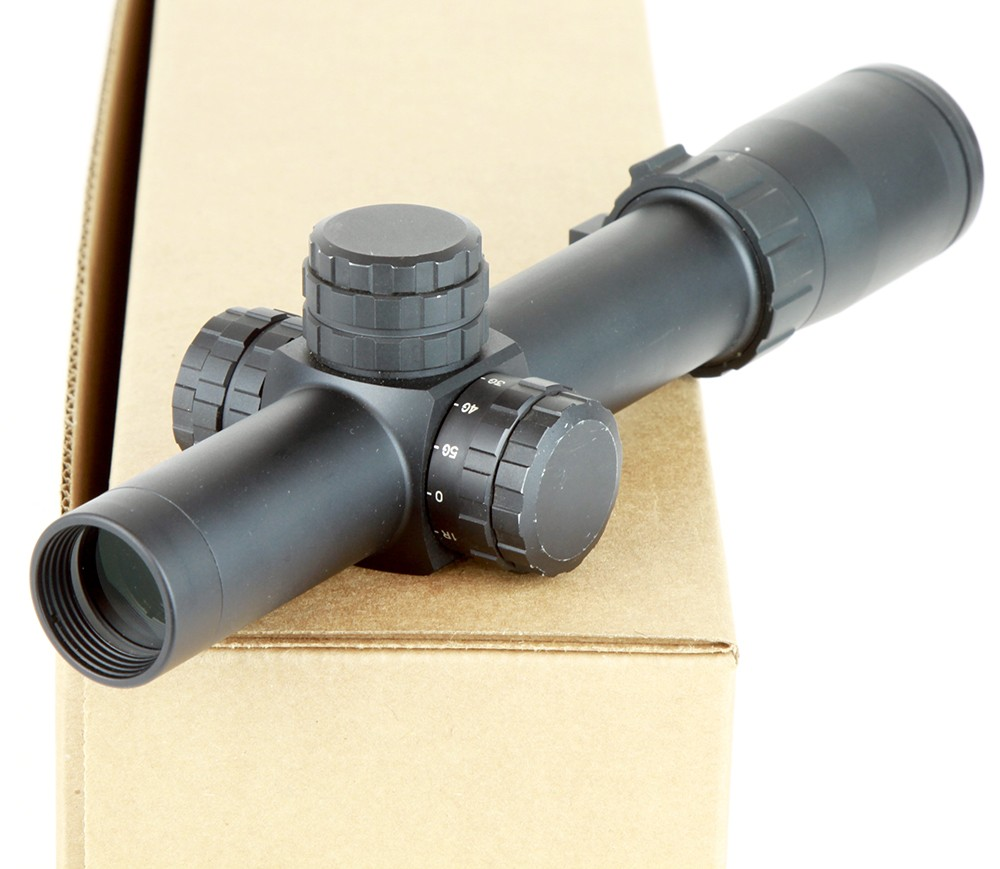 Weaver 1-5x24 Tactical 30mm Rifle Scope DEMO-C